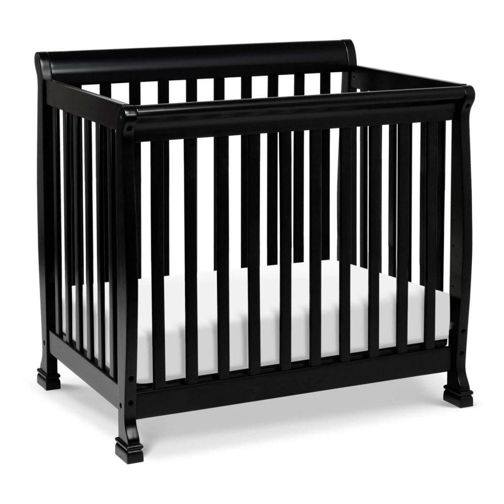 Davinci Kalani black mini crib from Target