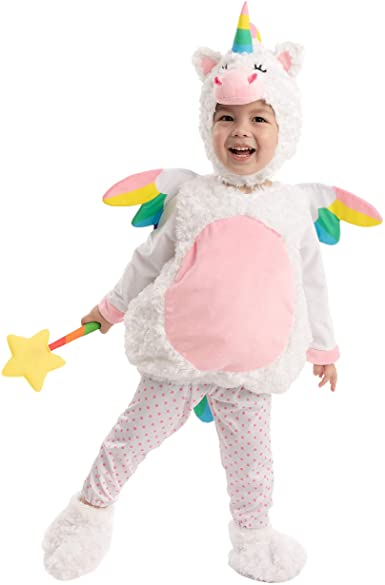 Cute Lil' Baby Unicorn Costume for Halloween Infant Trick or Treating Party, Dress Up