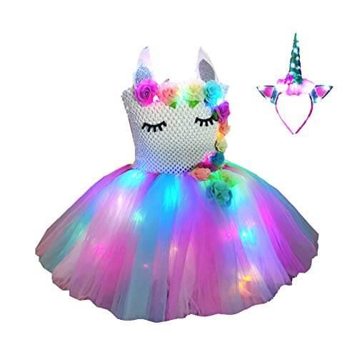 Girls unicorn costume Unicorn Dress for Girls