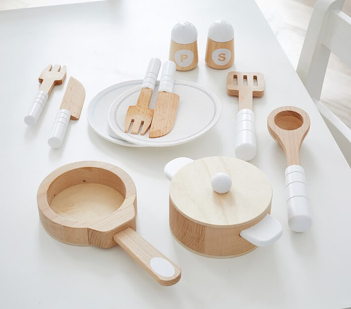 Wooden Cooking & Eating Set