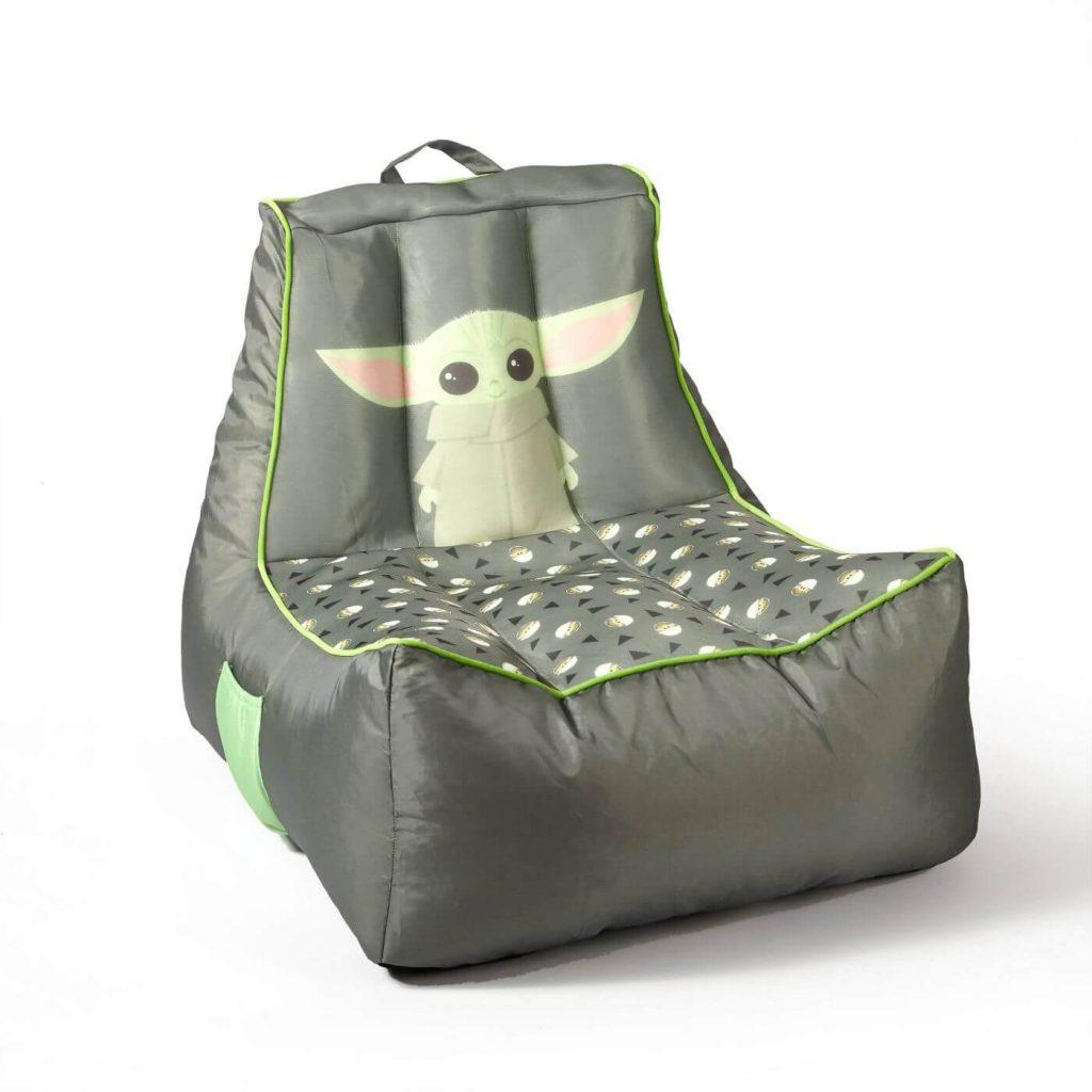 baby yoda gamer bean bag chair