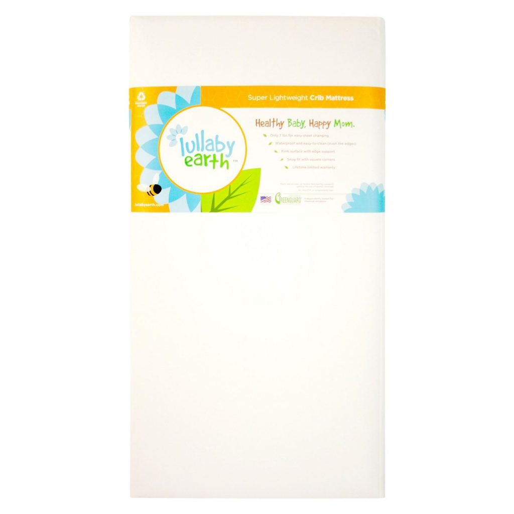 lullaby Earth Healthy Support Crib and Toddler Mattress