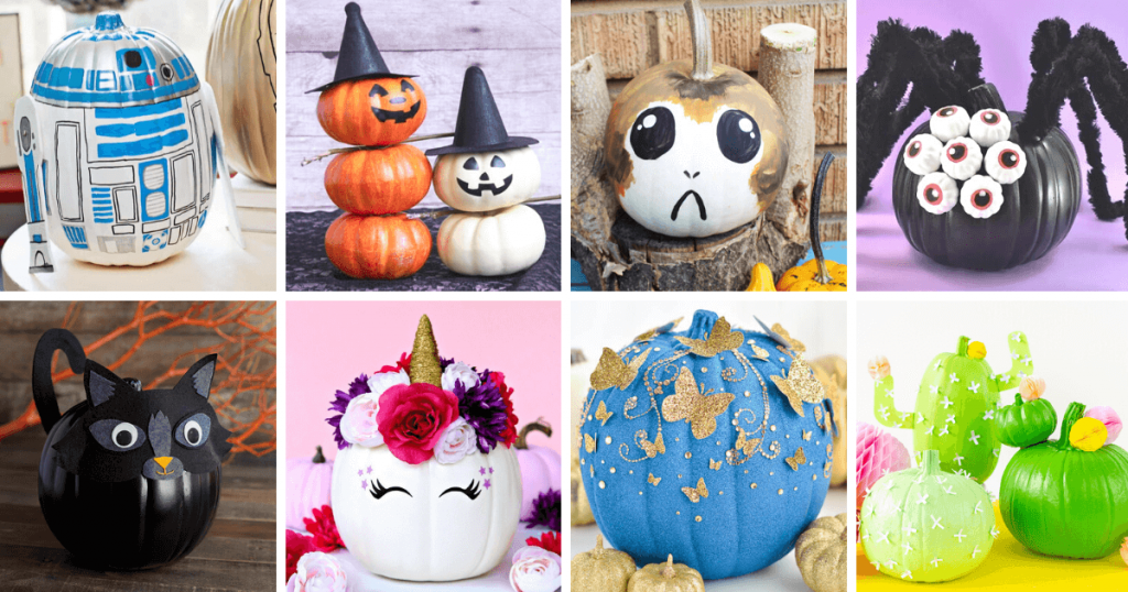 8 no carve pumpkin decorating ideas